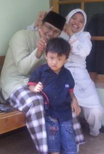 Idul Fitri 2008 di rumah bude magelang